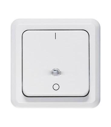 Выключатель PEHA серия Compacta, белый