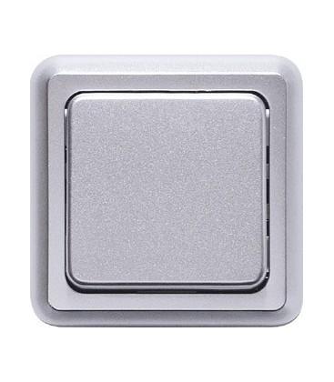 Выключатель PEHA серия Compacta, алюминий