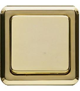 Выключатель PEHA серия Compacta, золото