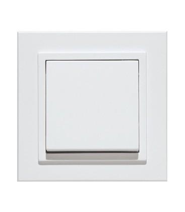 Выключатель PEHA серия Aura Basis, белый