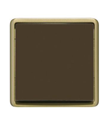Выключатель PEHA серия Dialog, бронза/коричневый