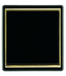 Выключатель PEHA серия Dialog Exclusive, черный/золото