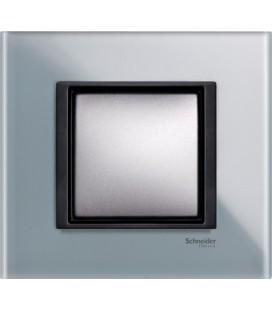 Выключатель Schneider Electric серия Unica Class, матовое стекло