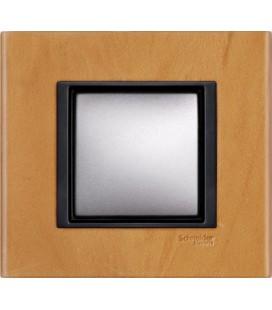 Выключатель Schneider Electric серия Unica Class, светлая кожа