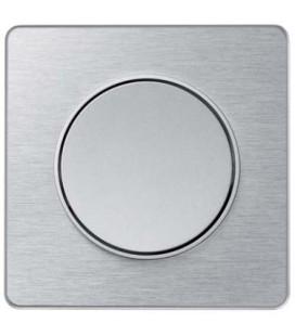 Выключатель Schneider Electric серия Odace, полированный алюминий