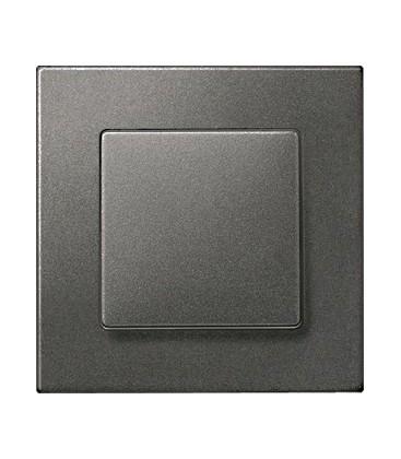 Выключатель Siemens серия Delta Miro, Черный металлик