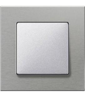 Выключатель Siemens серия Delta Miro, Натур/алюминиевый металлик