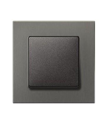 Выключатель Siemens серия Delta Miro, Титан/черный