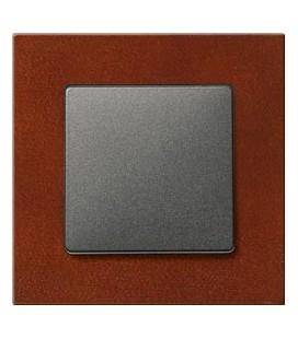 Выключатель Siemens серия Delta Miro, Клен красный/черный