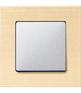 Выключатель Siemens серия Delta Miro, Клен/алюминий