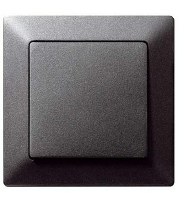 Выключатель Siemens серия Delta Line, Черный металлик