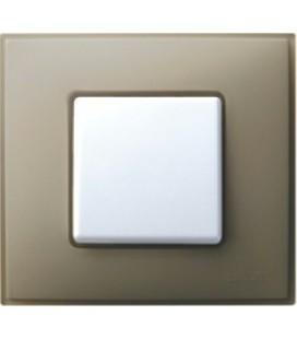 Выключатель Simon серия 27 Neos, серый