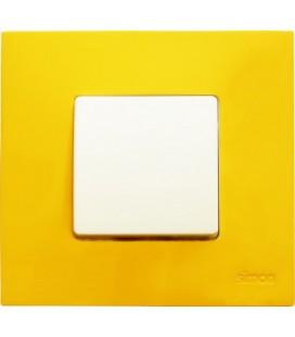 Выключатель Simon серия 27 Play, желтый