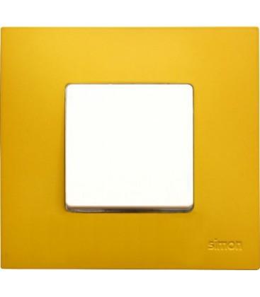 Выключатель Simon серия 27 Play, артик жёлтый