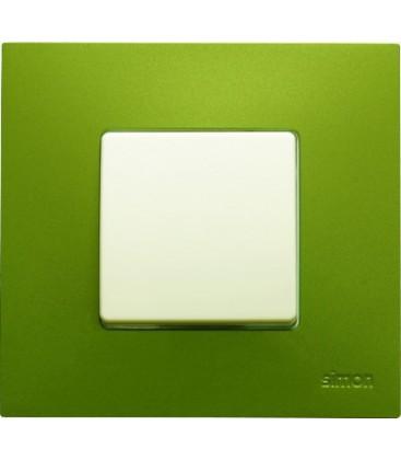 Выключатель Simon серия 27 Play, артик зеленый