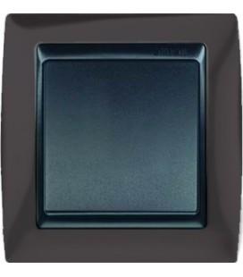 Выключатель Simon серия 82, серый гранит/графит