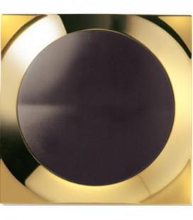 Выключатель SIMON серия 88, квадрат золото/коричневый