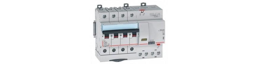 Дифференциальные автоматические выключатели LEGRAND серии DX3