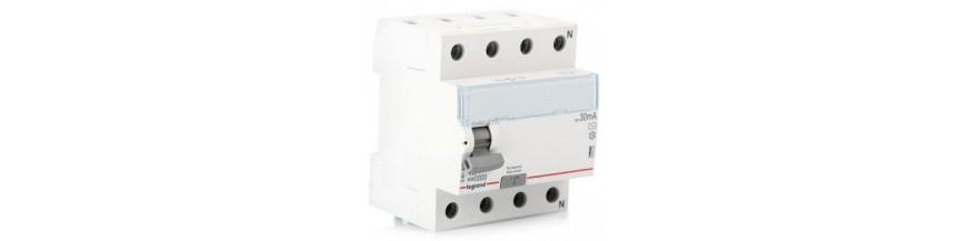 Дифференциальные автоматические выключатели LEGRAND серии DX
