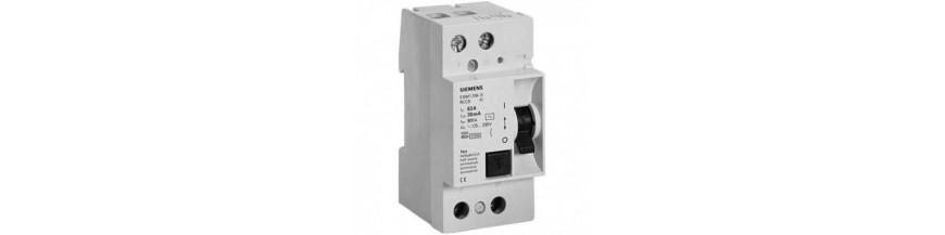 Устройство защитного отключения Siemens тип AC