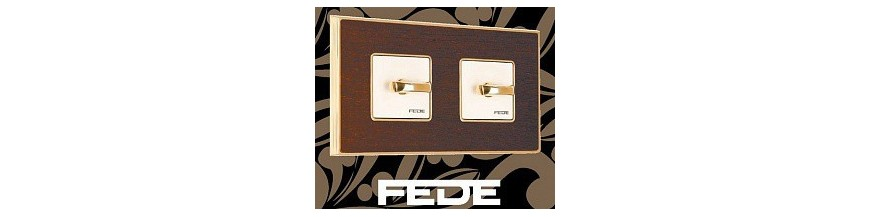 Розетки и выключатели FEDE (Испания)